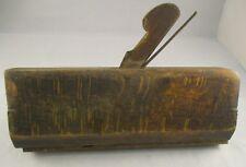 """Vintage Wooden Rebate Wood Plane - 9.25"""" x 3.5"""" - Collectable - Display Item"""