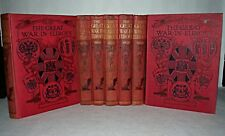 The Great War In Europe, Part Set, HB, Volumes VI, IX, VII, VIII, III, V, IV