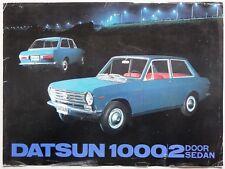 V06437 DATSUN 1000 - 2 DOOR