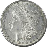 1882 S $1 Morgan Silver Dollar US Coin XF EF Extremely Fine