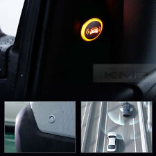 Blind Spot Assist Warning LED Sensor Light Back Up Alarms Buzzer For All Vehicle