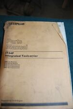 Caterpillar Parts Manual IT24F Integrated Toolcarrier 1994