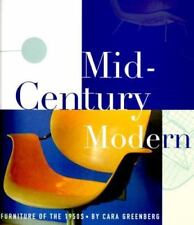 Mid-Century Modern: Furniture of the 1950s, Greenberg, Cara, Acceptable Book