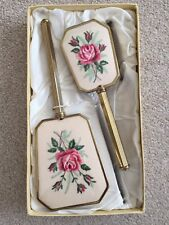 Vintage Rondis Hair Brush And Mirror Set Boxed