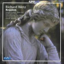 Richard Wetz: Requiem (CD, Jan-2006, CPO)