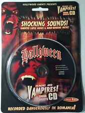 Demons and Vampires Sound Effects Halloween CD