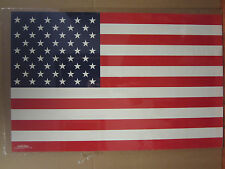 Vintage American Flag poster USA  3581