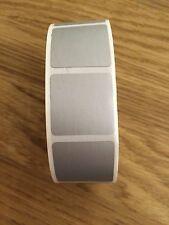 25pcs Silver Square Scratch Off Sticker Label/ Secret Message Sticker 2.5 x 2.5