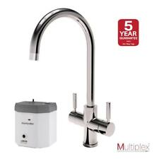 Montpellier Multiplex 3in1SC | Swan Spout Mains Hot, Cold & Boiling Water Tap