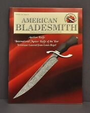 American Bladesmith Society Journal Knife Makers Collectors Spring 2017 #49