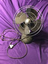 Antique Knapp Monarch KM Jack Frost Desk Fan - Art Deco - cast iron base