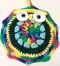 Handmade Crocheted Owl Pot Holder Kitchen Decoration L1