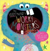The Very Hungry Worry Monsters by Lara Ede 9781789470130 | Brand New