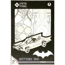 "BATMAN - 1966 Batmobile 10"" 3D Metal Model Kit (SD Toys) #NEW"