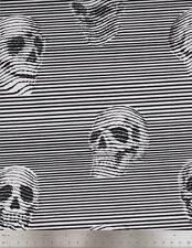 Alexander Henry Fabrics, Skullduggery Between the Lines, Skulls in Black & White