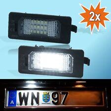 Audi A1 A4 A5 S5 A6 A7 TT Q5 LED Kennzeichen Nummernschild Beleuchtung P