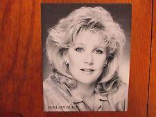 """SENA  AYN  BLACK (""""Square One TV/Hollywood Shuffle"""") Signed 8 X 10  B & W Photo"""