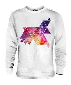 GALAXIES AND DIAMONDS UNISEX SWEATER MENS WOMENS LADIES TOP GIFT SUMMER CLOTHING