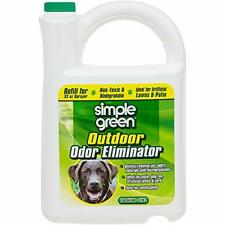 Simple Green Outdoor Odor Eliminator for Pets Dogs 1 gallon Refill - Non-Toxi.
