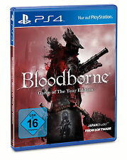 Bloodborne -- Game Of The Year Edition (Sony PlayStation 4, 2015, DVD-Box)