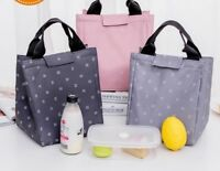 Women Leaf Tote Thermal Lunch Bag Waterproof Beach Pcnic Lunch Bags Sport Tools