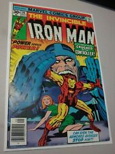 IRON MAN #90 High Grade Jack Kirby cover, Marvel Comics 1976