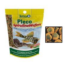Tetra PLECO SPIRULINA WAFERS Algae Wafer Premium Vegetable Plec Fish Food Diet