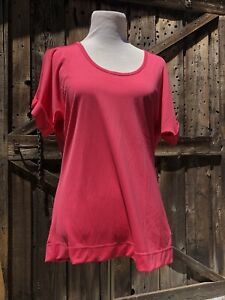 Nwt GSX By grand Slam Honeysuckle Pink Top