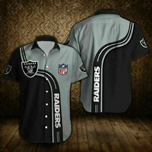 Las Vegas Raiders Football Summer Shirts Men's Casual Short Sleeve Slim T-Shirt5