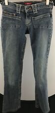 GUESS Co. Juniors Size 24 Stretch Denim Pre Owned Low Rise 100 Cotton Jeans