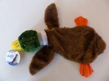 Hundespielzeug- Erziehungsspielzeug- Quietschspielzeug- Plüschente 38cm günstig