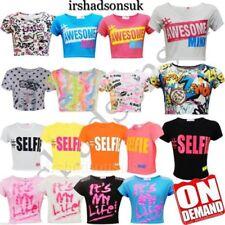 T-shirts et débardeurs multicolore pour fille de 11 à 12 ans