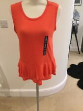 Gap Coral Linen T Shirt Size X Small