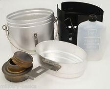 Swedish Army Trangia Svea Cookware Field Cooker Aluminium Alu Silver NEW