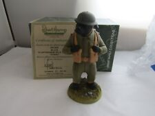 TOMMY SOLDIER STAFFORDSHIRE BULL TERRIER ARMY DP149B RARE  LIMITED ROBERT HARROP