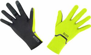 NEW GORE M GORE-TEX INFINIUM™ Stretch Gloves - Yellow/Black Full Finger X-Large