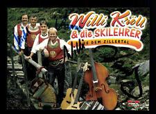 Willi Kröll und die Skilehrer Autogrammkarte Original Signiert ## BC 67669