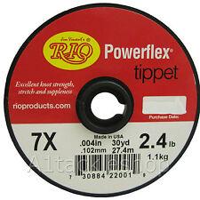 Spool of Rio Powerflex Leader Tippet 7x 2.4lb