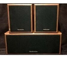 Technics SB-C937 Center / S937 Surround Sound Speaker System Simulated Wood