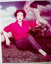 **  JOAN CRAWFORD  COLOR GLAMOUR    8x10   PHOTOGRAPH **