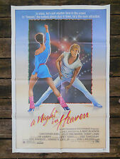 A NIGHT IN HEAVEN ONE SHEET MOVIE POSTER 83 CHRISTOPHER ATKINS LESLIE ANN WARREN