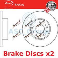 2 X Apec BRAKING 290mm Solide Original