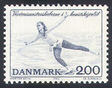 Dinamarca 1982 patinaje/Ice Bailar/Deportes/juegos/animación 1 V (n40941)
