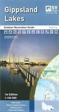 Spatial Vision Gippsland Lakes Map *FREE SHIPPING - NEW*