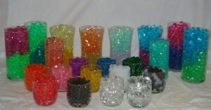 Water beads - 10 pack special - Vase Filler decorations - mix and match colors