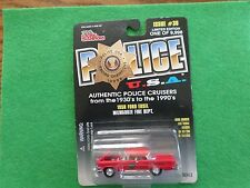 New-Racing Champions-1958 Ford Edsel Vehicle Milwaukee Fire Dept. 1:65 scale