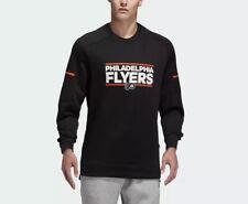 NEW! Adidas Philadelphia Flyers Squad Crew Sweatshirt Sz XL D77061 $90