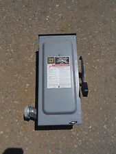 Square D Safety Switch D222NRB 60A 240 VAC
