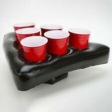 Inflatable Beer Pong Hat Floating Pong Game for Swimming Pool Party Supplie S2O6