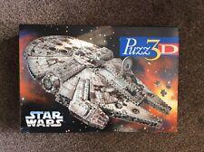 Millennium Falcon - Puzz 3D Star Wars 857 Piece 3D Jigsaw Puzzle - rare item